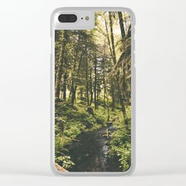 Forest XIV Clear iPhone Case