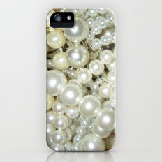 Pearls - for iphone Slim Case iPhone (5, 5s)