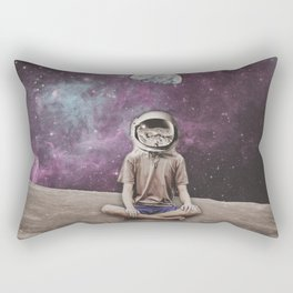 PSYCHONAUT UNIVERSE MEDITATION Rectangular Pillow
