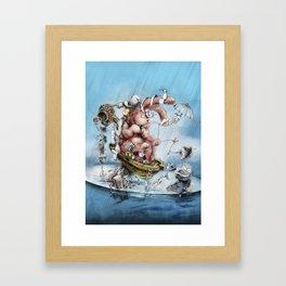 MAGIC TRICKS- III Framed Art Print