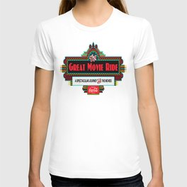 Great Movie Ride Sign T-shirt