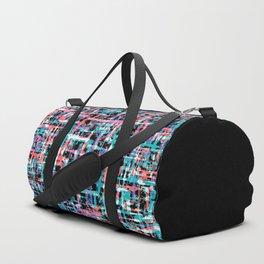 Mid-century Pattern #200 (purple Pollock) Duffle Bag