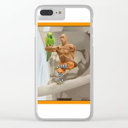 Dedication Clear iPhone Case
