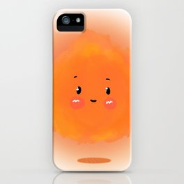 carrying a torch iPhone Case