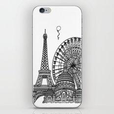 Paris Silhouettes iPhone & iPod Skin