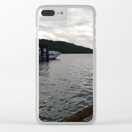Scenery Clear iPhone Case