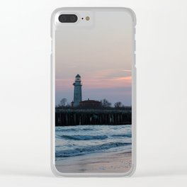 Italy Baccucco Sunset Clear iPhone Case