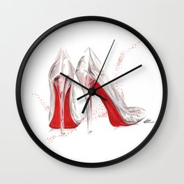 If the Runway Slipper Fits Wall Clock