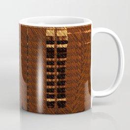 Brown Orange Wisps Coffee Mug