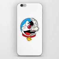 doraemon iPhone & iPod Skins featuring Doraemon  by Santos