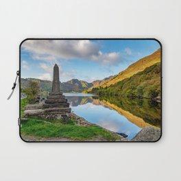 Crafnant Lake Obelisk Laptop Sleeve