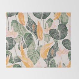 Lush Lily - Autumn Throw Blanket