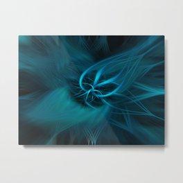 Motion Energy Metal Print