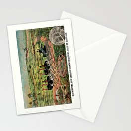 Distributing ship cargo of buggies Ohio to Australia Stationery Cards