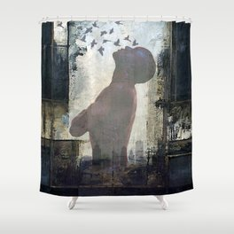 The dream of freedom Shower Curtain