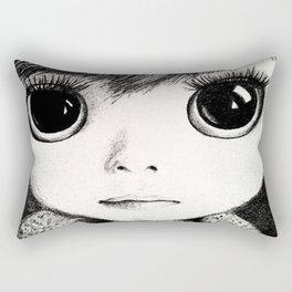 little girl /Agat/ Rectangular Pillow