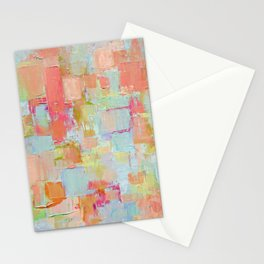 Coral Coterie Stationery Cards