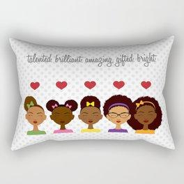 Little sis Rectangular Pillow