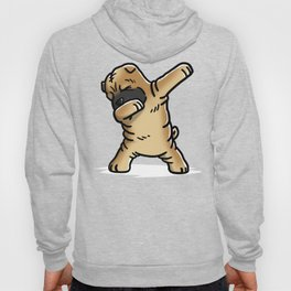 Funny Dabbing Shar Pei Dog Dab Dance Hoody