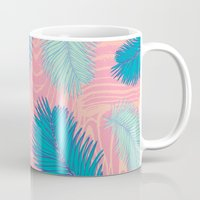 palm Mugs featuring Palm by haytay