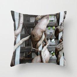 Strangle Throw Pillow