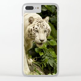 Approaching Tiger Clear iPhone Case