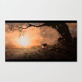 Landscape wonderland Canvas Print