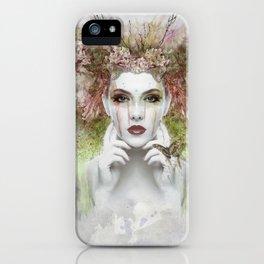 Springtime Goddess iPhone Case
