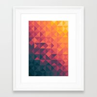 infinity Framed Art Prints featuring Infinity Twilight by Picomodi