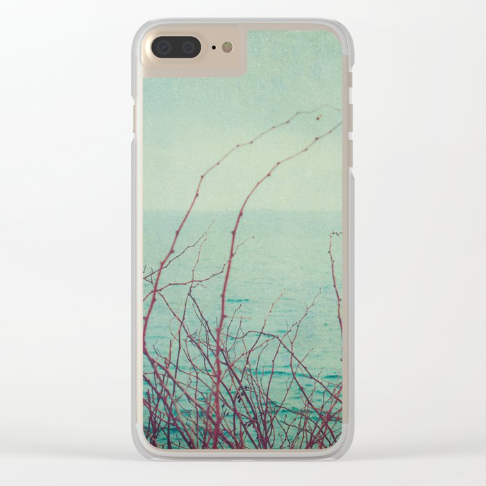 She Would Float and Stare at the Sky Clear iPhone Case