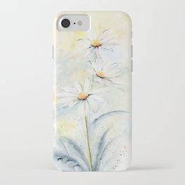 White Daisies iPhone Case