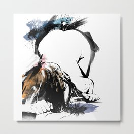 Shibari - Japanese BDSM Art Painting #8 Metal Print