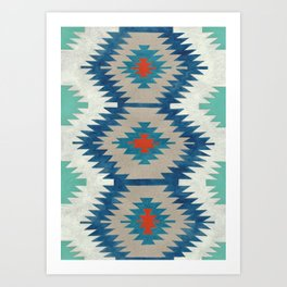 kilim I Art Print