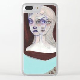 The Triplets Clear iPhone Case