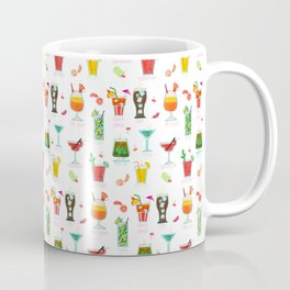 Happy hour..s cocktails illustration Coffee Mug