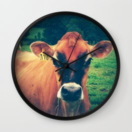 Cow 110 Wall Clock
