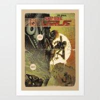 Zombie Virus Art Print