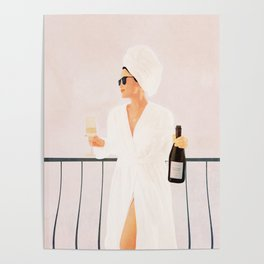 Morning Wine II Poster