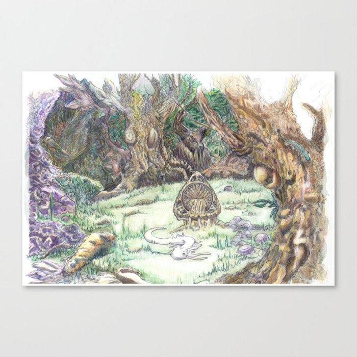 RHX Forest Logo Canvas Print