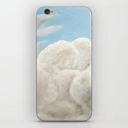 Cloudy Blue Sky iPhone Skin
