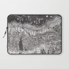 Imaginary Cityscape Laptop Sleeve