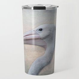 Portrait of a Pelican Travel Mug