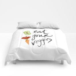 Eat Your Veggies Comforters