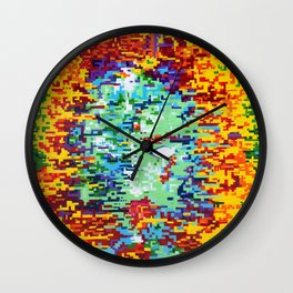 Depressive Doppler Deluge Wall Clock