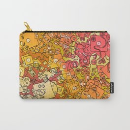 Technology Psychedelic Warm Carry-All Pouch