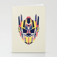 transformer Stationery Cards featuring Prime by Fimbis