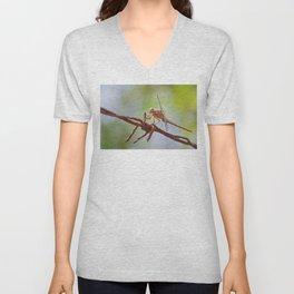 Nature in pastel shades Unisex V-Neck