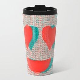 Heart Emoji Travel Mug