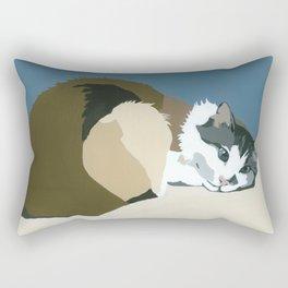 Colbert Teal Rectangular Pillow