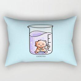 Catalyst Cute Cat Chemistry Science Pun Rectangular Pillow